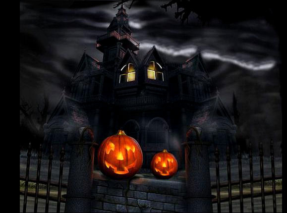 witches home on halloween - Halloween Which
