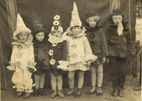 one of the most important aspects of halloween is wearing a costume to become someone or something else - Halloween Costumes 1900